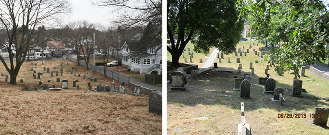 View From The Hill-- Before and After