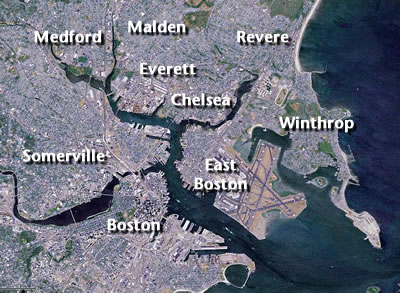 Map-Mystic River Jewish Communities